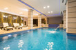 Quadro Swimming pool in hotel spa and wellness center