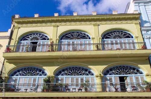 Beautiful building in Havana, Cuba.