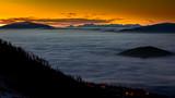 Fototapeta Fototapety na sufit - Wschód Słońca Klimczok © slawek
