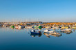The harbor from Lagos in the Algarve Portugal