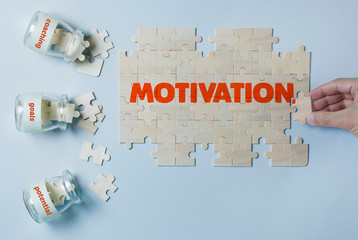 MOTIVATION BUILDING PUZZLE