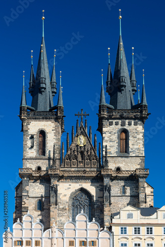 Prague, Old Town Square, Church of Our Lady before tyn