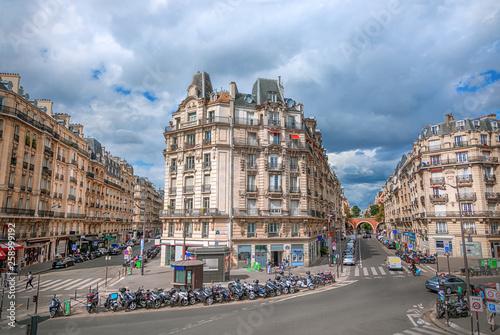 fototapeta na ścianę Street in Paris