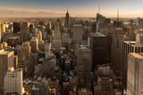 New York Panorama am Abend
