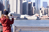 Fototapeta Fototapeta Nowy Jork - Tourist in New York © imaginando