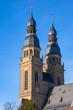 canvas print picture - Türme der St.-Josephs-Kirche in Speyer