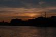 Dublino, Irlanda, spettacolare tramonto estivo sul Liffey river - 259120969