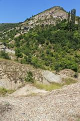 Rock formation The Stone Dolls of Kuklica near town of Kratovo, Republic of North Macedonia © Stoyan Haytov