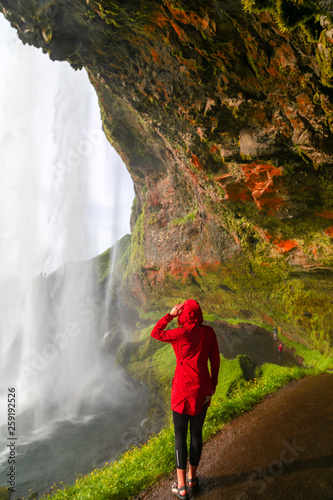 Iceland waterfall © Adventures of Mary