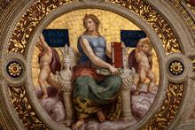 "Постер, картина, фотообои ""fresco in church"""
