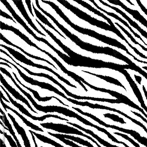 Zebra stripes tiling print background