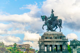 Memorial of German Unity in Koblenz, Germany