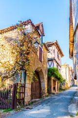 Saint Cirq Lapopie dans le Lot en Occitanie en France