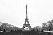 Eifelturm in Paris, Schwarz Weiß