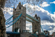 Tower Bridge, Combined bascule and suspension bridge in London