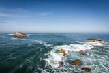 Vue sur la baie de Biarritz - Pays basque français