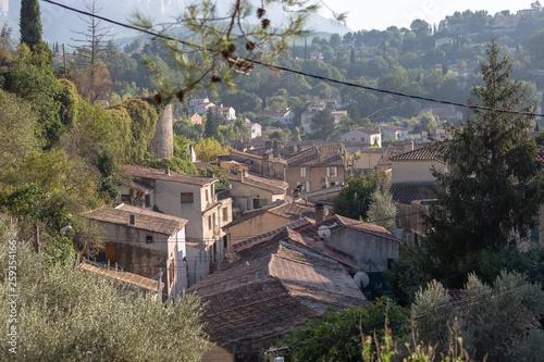 toiture cloché toiture toit maison village © Patrick