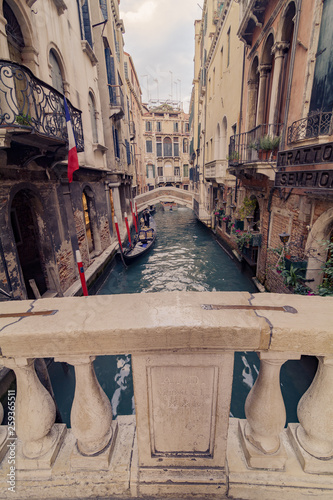 canal view in venice  © Rene