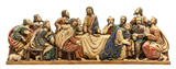 Last Supper depiction. Isolated