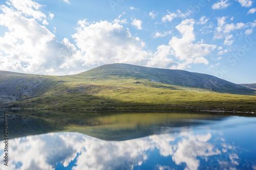 Kyrgyz lake. Mountain Altai. Russian nature - 259400729
