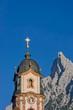 canvas print picture - Pfarrkirche St. Peter und Paul in Mittenwald
