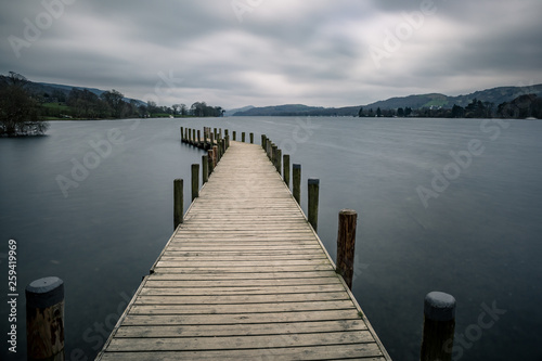 Acrylglas Pier The Monk Coniston car park at the northern tip of Coniston Water is a really handy stopping place from which to capture great pictures of the lake and its surroundings.