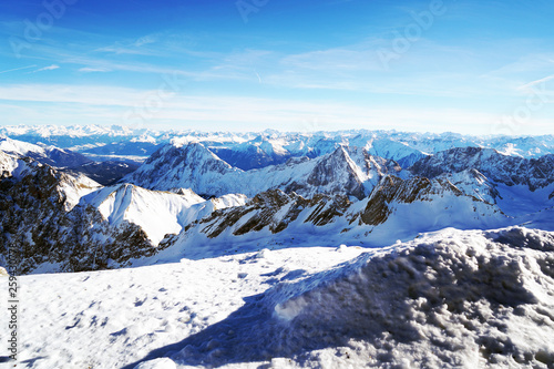 canvas print picture Zugspitze