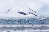 Arctic mountain and glacier