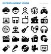 Entertainment Vector Icon Set