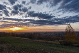 Fototapeta Fototapety na sufit - Zachód słońca © Marcin