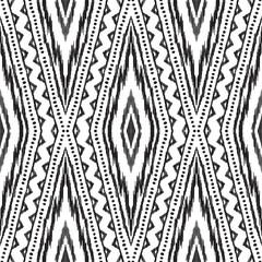 Ethnic seamless pattern. © aunaauna