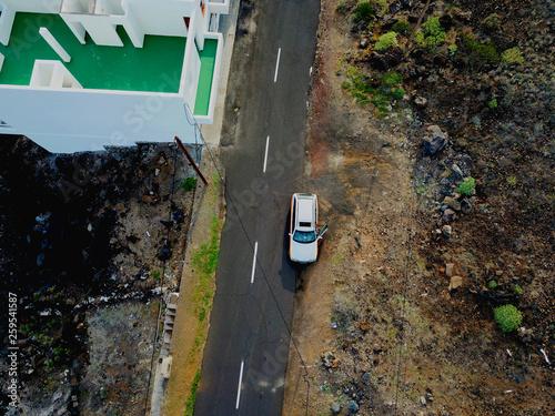 fototapeta na ścianę Teneriffa Luftbilder - Ganz Teneriffa aus der Luft fotografiert