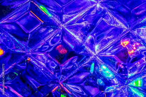 Lights reflected in the crystal background. - 259580773