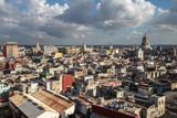 View over the rooftops in Havana, Cuba