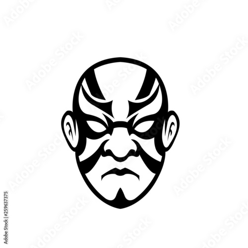 Japanese mask Vector  © Carloslms