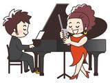 ジャズシンガーとピアニスト