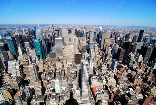 The Manhattan skyline © doncon402