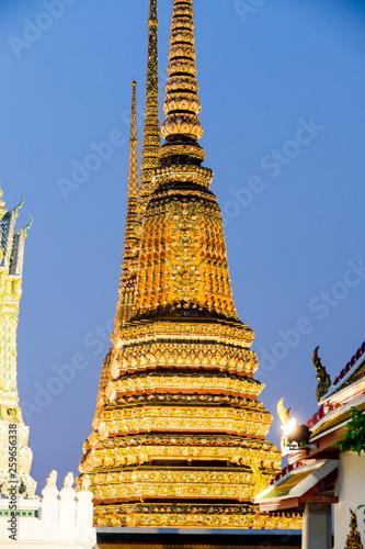 Fototapeten Bangkok Beautiful photo of Wat Pho Temple, Bangkok City taken in thailand