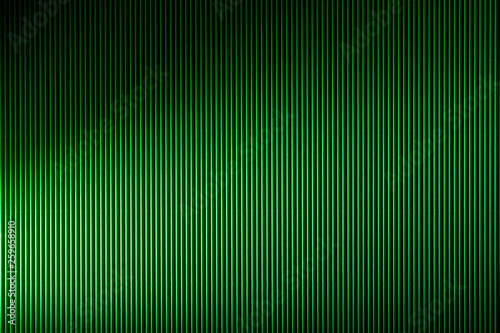 Texture and background of corrugated cardboard green for decoration, for text design, for a template - 259658910