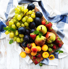 Fresh summer fruits