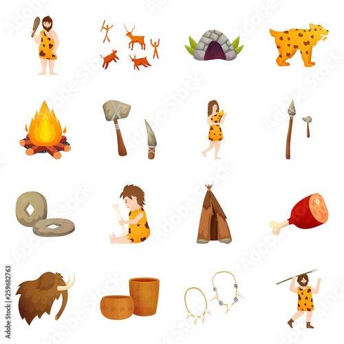 fototapeta na ścianę set of icons