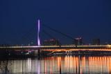 Belgrade bridges at night