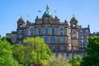 canvas print picture - Das Museum on the Mound in Edinburgh/Schottlanmd