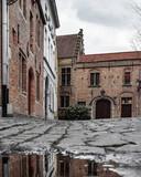 The old center of Brugge, Belgium