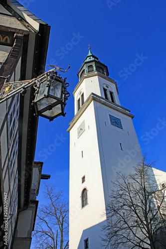 canvas print picture Celle: Stadtkirche St. Marien (1308, Niedersachsen)