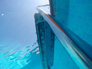 Fotografía submarina en piscina