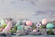Leinwanddruck Bild - Easter decoration