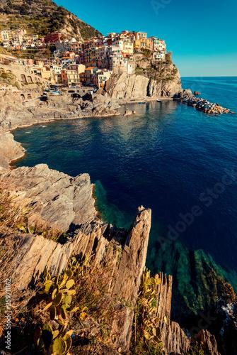 Manarola, Cinque Terre (Italian Riviera Liguria), Italy - famous italian travel destinations
