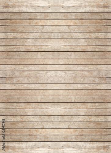 Fond bois, lambris, lames horizontales  - 259717945
