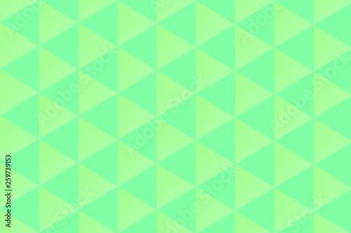 Leinwandbild Motiv Abstrait vert d'eau
